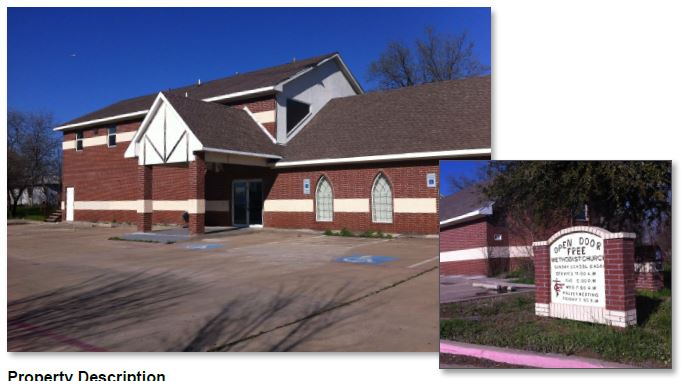 1130 dalworth st grand prairie tx church for sale dfw for Build on your lot east texas